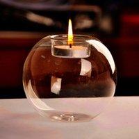 ingrosso case portatili in vendita-40pcs portatile vendita calda classico cristallo portacandele wedding bar partito decorazioni per la casa candlestick