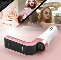 Wholesale NEW CAR G7 Bluetooth MP3 FM Transmitter Bluetooth Wireless Car Kit Hands Free FM Adapter Transmitter With USB Car Charger hot sale