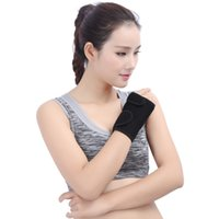 Wholesale carpal wrist brace - Wrist Splint Carpal Tunnel Hand Palm Brace Support for Arthritis Sprains Strains Right Or Left Hand 1 pc Support FBA Drop Shipping G896Q