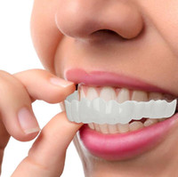 Wholesale free shipping teeth whitening for sale - Group buy Snap On Smile Perfect Smile Comfort Fit Flex Teeth Fits Comfort Fit Flex Teeth Fits Veneers Smile Denture with box gift