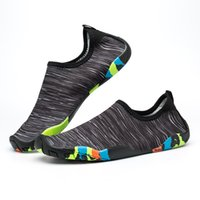 Wholesale surfing wet suits - Water Sports Diving Socks Unisex Adults Anti Skid Beach Socks Breathable Fabric Quick Drying Swimming Surfing Wet Suit Shoes