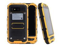 mms tela quente venda por atacado-Original A8 A8 + IP68 A9 V9 À Prova D 'Água À Prova de Choque NFC Robusto smartphone MTK6582 Quad Core Android 4.4 1 GB de RAM 8 GB 3G GPS Do Telefone Móvel