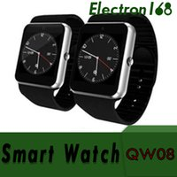 Wholesale 3g wifi android watch phone for sale – best QW08 GT08 PLUS G Wifi Smart Watch Phone Android inch MTK6572 GHz Dual Core MB RAM GB ROM Bluetooth SmartWatch X