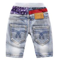 hohe mode kinder jeans großhandel-SummerFall Mode Kinder Jeans Shorts für Jungen Hohe Qualität Casual Jeans Baby Jungen Hosen Kinder Junge Jeans Boy Denim Hosen