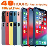 Wholesale iphone case high quality transparent online – custom High Quality Official Silicone Case For iPhone X Plus For Apple Cover For iPhone S Plus With Retail Box
