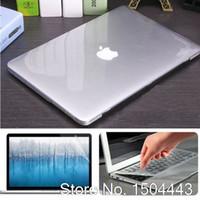 pro-bücher fällen großhandel-3in1 Clear / Matte Hartschale für MacBook Pro 13 A1706 Pro 15 A1707 Mit Touch Bar Touch ID Laptoptasche für MacBook A1708