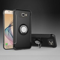 Wholesale casing case samsung galaxy grand prime online – custom Vehicle Armor Case For Samsung Galaxy ON5 ON7 J5 J7 Prime J2 G532 J3 J5 J7 Pro Grand Prime Plus With Ring Stand Cover