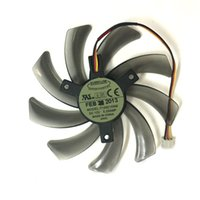 Wholesale Everflow Computer Fans - Free Shipping EVERFLOW T129215SM 95mm 3PIN computer cooler fan for Gigabyte GV-N650OC-1Gl 2Gl GV-N550WF2 N56GOC R667D3 R777OC