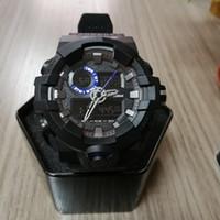 reloj sport hombre achat en gros de-2018 nouvelle arrivée montres pour hommes en plein air Sprort Man Male LED arrière lumière Digital montres-bracelets analogiques double affichage montres horloge reloj hombre