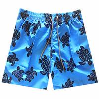 ingrosso mens stile di vacanza-Pantaloncini da spiaggia da uomo corti nuovi casuali bicchierini da uomo in cotone stile moda pantaloncini da uomo Bermuda da spiaggia neri per uomo