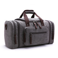 Wholesale Business Travel Suitcase - Men Travel Bags Leisure Travelling Bag Business Large Capacity Travel Luggage Weekend Bag Canvas Bolso Viaje Bags Reisetasche