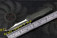 çinko bıçağı toptan satış-Mecha otomatik bıçak 440 çelik çinko alüminyum kolu açık kamp kendini savunma katlanır bıçak toptan a07 b07 c07 BM3300