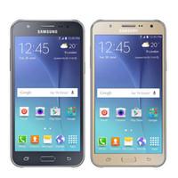 мультимедийные сотовые телефоны оптовых-Оригинал восстановленное Samsung Галактики J700F мобильный телефон 1.5 ГБ оперативной памяти 16 Гб ROM, 8МП Процессор Dual SIM-карты сети 3G 2SIM/Multi-группы сотовые телефоны
