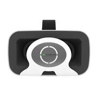 3d gözlük toptan satış-VR Gözlük All In One Smartphone 3d Sanal Gerçeklik VRBOX Cep Telefonu 3D Gözlük VR + Tıp