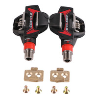 Wholesale carbon pedals for sale - Group buy Costelo XC MTB Mountain bike Pedals Carbon Ti Tianium bicycle bike pedals with cleats only g