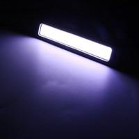 Wholesale day time led - 2pcs Car-styling Day Time Lights LED Car DRL Daytime Running light COB Flexible Super Bright Bendable Reversing Lamp Fog Lamp