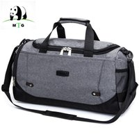03727be896c0 MTG Brand Travel Bag Large Capacity Men Hand Luggage High Quality Travel  Duffle Bag Canvas Weekend Bags Male Bags Handbag