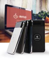 base de banco de poder al por mayor-Qi Wireless Charger Portable Power Bank Dock Station para Samsung Galaxy S7 Edge S6 Edge + cargador inalámbrico Power Bank 2 en 1 iphone 7/8 / X