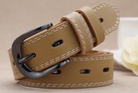 ingrosso cinghie per il commercio all'ingrosso-Cinture di marca di alta qualità cinghie di marca per gli uomini cintura di castità maschile cinture di cintura superiore degli uomini di moda cintura all'ingrosso con scatola