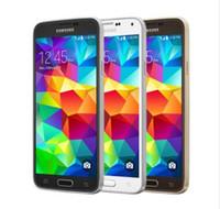 samsung s5 quad core al por mayor-Original desbloqueado Samsung Galaxy S5 G900A G900T G900P G900V 5.1