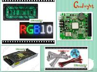 módulo al aire libre al por mayor-Envío gratis DIY Pantalla LED 20 piezas P10 SMD al aire libre a todo color Módulo (320 * 160mm) + 1 pc RGB controlador led asíncrono + fuente de alimentación de 3pc