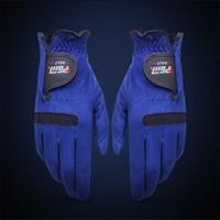 sèche-gants achat en gros de-Gants de golf bleus superfibre mâle sport de plein air gant de traction tissu force élastique non étanche ventilation a séchage rapide magique autocollant 13xs cckk
