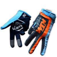 Wholesale ktm gloves - 2018 KTM Tour de France Cycling Gloves racing TEAM gloves Bike bicycles gloves with Gel pads C2011