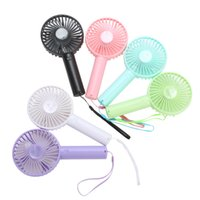 Wholesale Summer hand held portable outdoor USB battery mini creative small appliances desktop electronic Air Cooler fan