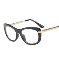 d46f4bc5337 eyeglasses sexy UK - MINCL cat glasses frames for women designer 2018 sexy  black eyeglasses frame