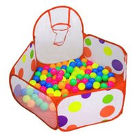 Wholesale Pool Game Play - 120CM 150CM Children Kid Ocean Ball Pit Pool Game Play Tent In Outdoor Kids House Play Hut Pool Tent @Z297