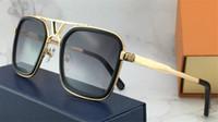 Wholesale popular lens - The latest selling popular fashion designer sunglasses 0947 square plate frame top quality anti-UV400 lens with original box