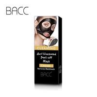 eliminar el acné crema al por mayor-BACC Face Care Remove Blackhead Mask Shrink Pore Mejore la piel áspera Acne Blackhead Remover Máscara Facial Crema Hidratante DHL