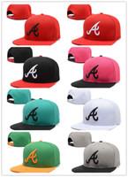 Wholesale Atlanta Caps - 2018 wholesale atlanta Adjustable Snapback Hat Thousands Snap Back Hat For Men Basketball Cap Cheap Hat Adjustable men women Baseball Cap