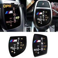 ingrosso adesivi per logo 3d-Di alta qualità 3D M logo Gear Shift Knob Sticker Cover Per BMW X6 M3 M5 325i 328 F30 F35 F18 F20 F21 GT 3 5 serie accessori auto