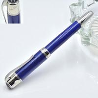 tintas cores venda por atacado-3 Cores de Alta Qualidade Grande escritor Jules Verne Roller-caneta esferográfica / caneta-tinteiro papelaria escritório de luxo canetas de tinta de caligrafia
