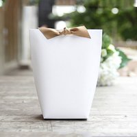 Wholesale paper shops - News paper shopping gift bag Stand up Colorful Favor Open Top Festival Party supplies different patterns