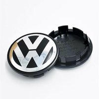 Wholesale wheel cars for sale online - Hot Sale mm Car Wheel Cover Badge Wheel Hub VW Center Caps Emblem For VW TOUARET