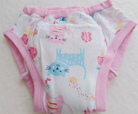 Wholesale baby pants diapers for sale - Group buy Printed cat adult Training Pant abdl Cloth Diaper Adult Baby Diaper Lover Underpants
