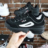 Wholesale mens casual shoes black brown - Fila II Mens Casual Shoes For Sneakers Women Fashion Athletic Sport Shoe Corss Hiking Jogging Walking Outdoor Shoe