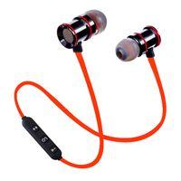 bluetooth trois achat en gros de-Casque Bluetooth sans fil, qualité sonore originale, transmission tridimensionnelle, écouteurs sport