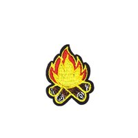 Wholesale Decorative Iron Patches - Diy Firewood Patches Cartoon Badges Sewing Embroidery Patches for Applique Ironing on Garment Sewing Supplies Decorative Patch for Clothing