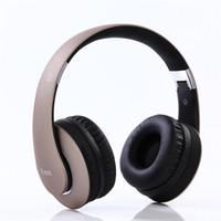 radio douce achat en gros de-Bluetooth Casque sans fil Hi-Fi stéréo sans fil casque FM radio pris en charge pliable souple mémoire-Protège-oreilles 4.0 casque sur l'oreille