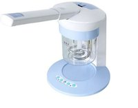 Wholesale ion steamer online - Portable household facial steamer with ozone Ion Vapour Steamer V