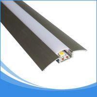 Wholesale led aluminum channel shipping - 10PCS 1m length LED Profile for led strip light free DHL shipping strip aluminum channel housing Item No. LA-LP21