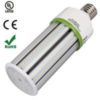 Wholesale High Lumen Light Bulbs - High Lumen 150W 200W LED Corn Light Bulb SMD2835 30W 40W 60W 80W 100W 120W Led Corn Bulbs E27 E26 E39 E40 Warehouse Street area Lighting