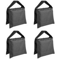 ingrosso treppiede a braccio-vendita all'ingrosso sacchetto di sabbia di studio fotografico Sandbag per stand di luce, boom stand, treppiede -4 pacchetti set