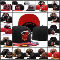 Wholesale Cheap Cycling Hats - HOT 2018 Adjustable Miami wade Snapback Hat many Snap Back Hat For Men Basketball Cap Cheap heat Hat Adjustable men women Baseball Cap
