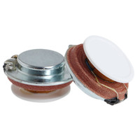 ingrosso vibrazioni audio-OOTDTY 2Pcs 27mm Speaker Vibration Resonance 3W 4 Ohm High Fidelity Audio Stereo Nuovo