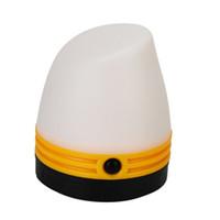ingrosso vendita diretta illuminazione-Piccola lampada portatile da campeggio 4 colori esterna Luce da campeggio Outdoor Gear Vendita diretta in fabbrica 6 8jb X