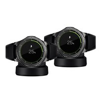 Wholesale S3 Charging Wireless - Bullpow smart watch wireless charger magnetic adsorption type wireless charger Suitable for samsung gear S3 watch charging base